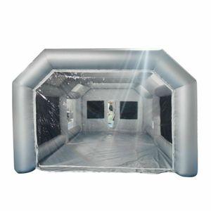 Aufblasbare Zelt  Partyzelt Aufblasbare Lackierkabine Zelt Sprühkabine Oxford PVC 8*4.5*3m 26x15x10FT