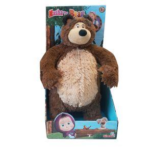 Simba Toys 109301066IT, Cartoon-Figur, Braun, Plüsch, 3 Jahr(e), Mascha und der Bär, Bär