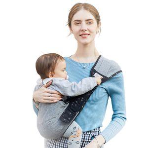 Babytrage, Bauchtrage Multifunktionale Tragbare Baby Grau Wickelträger Krankenpflege Abdeckung Babytrage Sling Babyprodukt