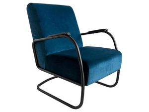 Spinder Design Retro Sessel - Juke Blue