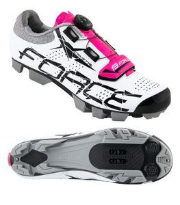 FORCE MTB Schuhe CRYSTAL Lila für Damen Gr. 39