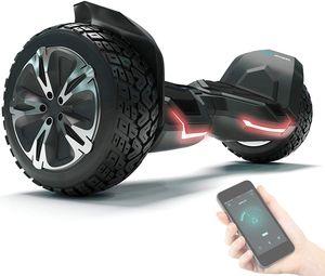 "Bluewheel HX510 Offroad Hoverboard Self Balancing Scooter 21,59cm (8,5"") Räder - Schwarz"