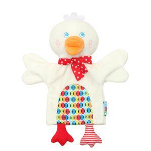 Cartoon Tiere Eltern-Kind Puzzle Plüsch Spielzeug Mund kann Marionette starten ZHI201217082WH
