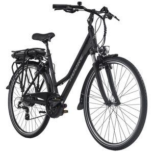 Pedelec E-Bike Damen Cityrad 28'' Adore Marseille schwarz Adore 115E