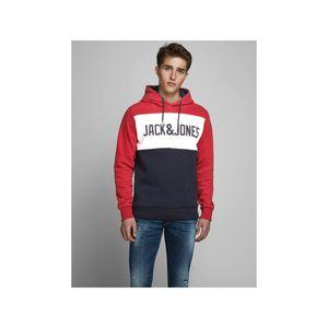 Jack & Jones Herren Sweatshirt 12172344 Tango Red