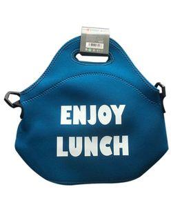 Bergner ENJOY LUNCH Lunchbag Neopren Kühltasche BGIB-5071 türkis