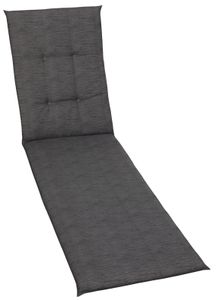 GO-DE Textil, Liegenauflage, uni anthra, 15802-05