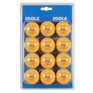 JOOLA Training 40 Tischtennis-Ball, 12er Blister, orange