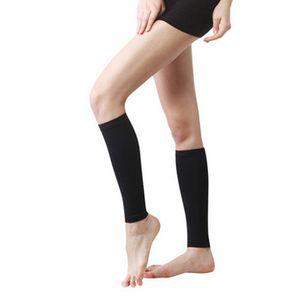 Sport Wadenwickel Elastische Beinkompression aermel Unterstuetzt Schmerzlinderung Verstauchung Muskelentspannung Socken Wadenbandage
