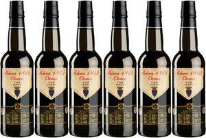 6x Oloroso Solera 1842  – Valdespino Sherry, Jerez-Xèrés-Sherry – Weißwein