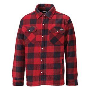 Dickies Herren Hemd Portland Lumberjack, Langarm, kariert RW3134 (M) (Rot)