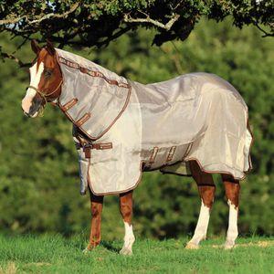 Horseware Rambo Protector - oatmeal / brown, Größe:125