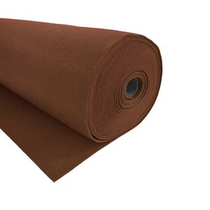 Bastelfilz 1m Meterware Filz 90cm x 1,5mm Dekofilz Taschenfilz Filzstoff 39 Farben, Farbe:nussbraun
