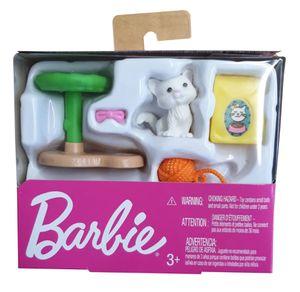 Mattel Barbie GHL81 Zubehör-Set Thema Katze und Katzenspielzeug