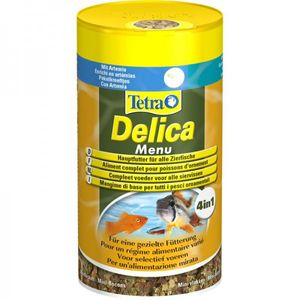 Tetra - Zusatzfutter für Fische, Delica Menü, 100 ml