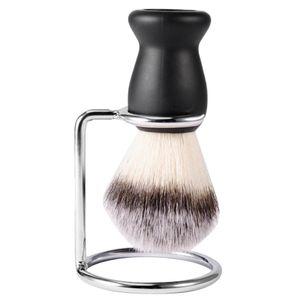 Herren Rasierpinsel Set Rasierer Bürste Ständer Perfekt für Alle Hauttypen
