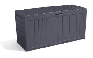 Keter Auflagenbox Marvel Plus 220kg belastbar Rollen Griffe Smart Click System Truhe Gartenbox Kissenbox Garten