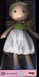 HABA 305239 Puppe Jil, Kinderspielzeug