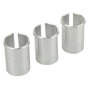 Reduzierhülsen-Set für Sattelstützen 3tlg, passend für 25,4mm