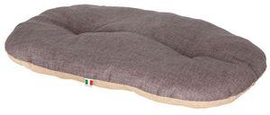 Liegekissen Loneta braun/grau 120x85 cm Hunde Ruhekissen Hundekissen Hund Tier
