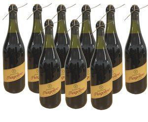 Fragolino Valmarone Rosso Kultgetränk aus Italien (9x0,75L)