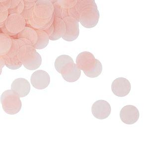 Oblique Unique Papier Konfetti 1000 Stk Tischdeko Geburtstag Party Hochzeit - rosa