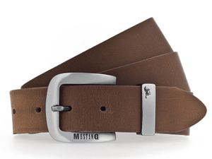MUSTANG Leather Belt 3.5 W130 Baileys - kürzbar