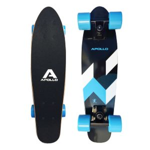 "Apollo Wooden Fancy Board ""Matei Mini"" Vintage Cruiser aus Holz 22,5''(57,15cm)"