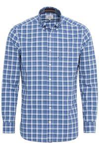 Camel active - Herren Hemd mit Button Down Kragen (409105-4S05), Größe:XXL, Farbe:blau (43)