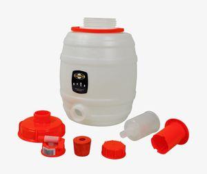 Set: 'Speidel' Mostfass 12 Liter ❀ komplett mit allem Zubehör