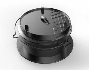 TEPRO-Guss-Dutch-Oven-Einleger-für 8568-schwarz-8230