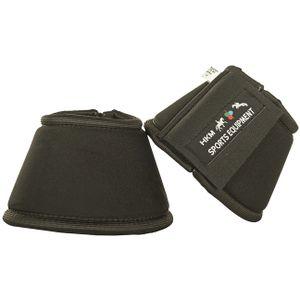 HKM Softopren Hufglocke -Finja-, Farbe:9100 schwarz, Größe:L