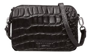 LIEBESKIND BERLIN Croco Crossover Bag Black