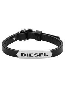 Diesel DX0999 Herren Armband STACKABLE Edelstahl Schwarz
