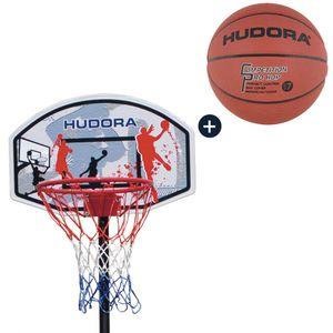 HUDORA Basketballständer All Stars 205 mit Basketball