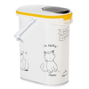 Curver Tierfutterbehälter Dinner is Served Katze 10 L