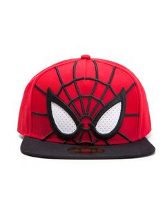 Spiderman Snapback Cap 3D mit Augen