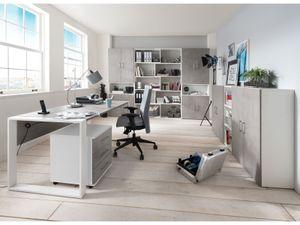 """Büro-Set Büroprogramm Arbeitszimmer Büromöbel Büroeinrichtung Set """"Hamburg IV"""""""