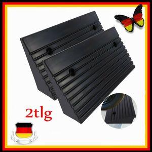 2X Rollstuhlrampe klappbar Rampe Rollirampe Auffahrrampe Türschwellenrampe KFZ