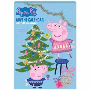 Peppa Pig - BIP Adventskalender mit Schokolade, Schoko Weihnachts Kalender