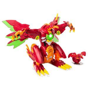 Bakugan Dragonoid Maximus Orange und Rot