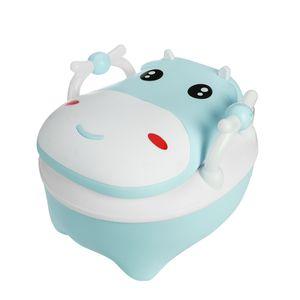 NEUFU Toilettentrainer Kinder Toilettensitz Baby WC Lerntöpfchen Töpfchen WC-Sitze Blau