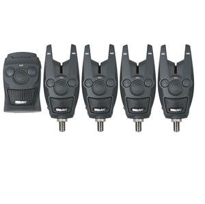 Prologic BAT+ Bite Alarm Set 4+1 - 4 Bissanzeiger + 1 Receiver