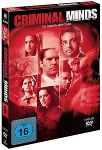 Criminal Minds - Staffel #3 (DVD) 5DVDs Min: 825DDWS