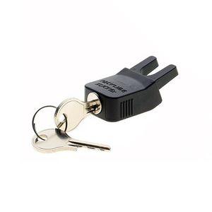 Racktime 17009 Snapit Klickfix Schloss Secureit für System Adapter, schwarz (1 Stück)