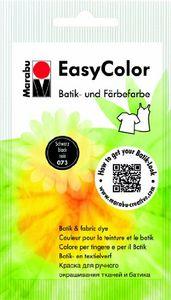 "Marabu Batik- und Färbefarbe ""EasyColor"", 25 g, schwarz, Menge 1"