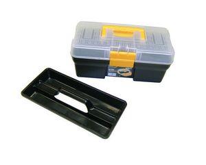 Kunststoff Werkzeugkoffer mit Kleinteilemagazin