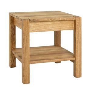 Haku Beistelltisch Massivholz, eiche geölt, Maße: 43 x 43 x 45cm, 30313