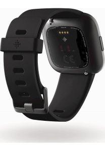 Fitbit Versa 2 NFC Smartwatch, Farbe:Schwarz