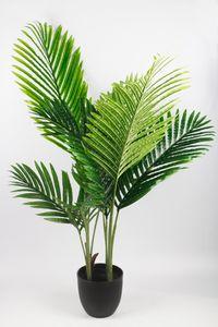 Künstliche Palme 90 cm Kunstpalme Zimmerpflanze mit Topf